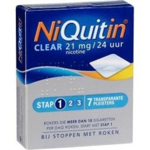Niquitin Niquitin Stap 1 21 mg (7st)
