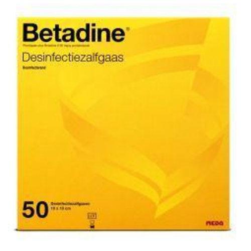 Betadine Desinfecterende zalfgazen (50st)
