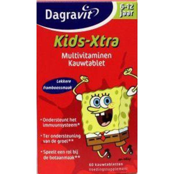 Multi kids framboos 6-12 jaar (60kt)