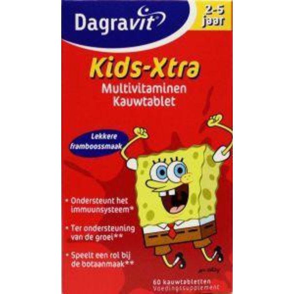 Multi kids framboos 2-5 jaar (60kt)