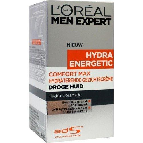 L'Oreal Loreal Men expert comfort max anti droge huid (50ml)