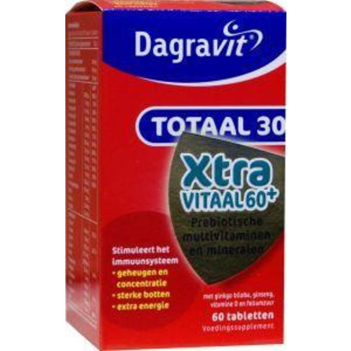 Dagravit Dagravit Totaal 30 vitaal 60+ (60tb)