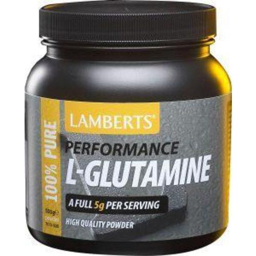 Lamberts Lamberts L-Glutamine poeder (Performance) (500g)
