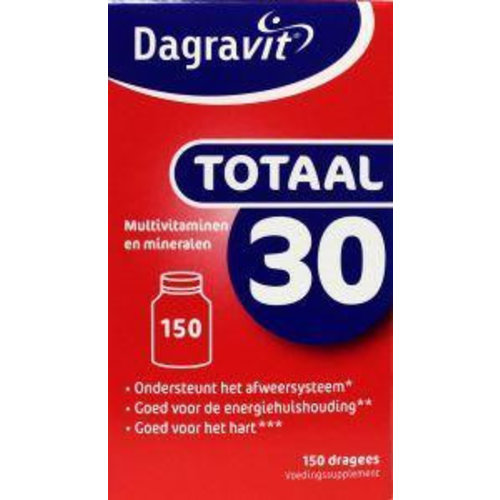 Dagravit Dagravit Totaal 30 dispenser navul (150dr)