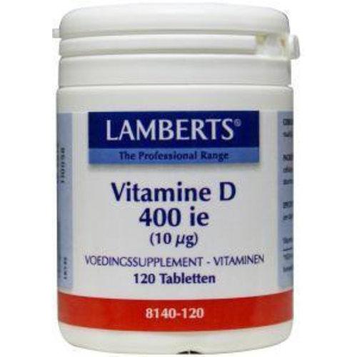 Lamberts Vitamine D3 (Cholecalciferol) 400IE (120tb)