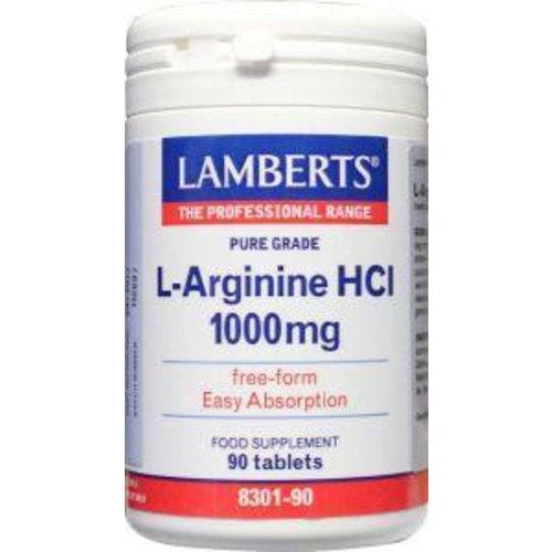 Lamberts Lamberts L-Arginine 1000 mg (90tb)
