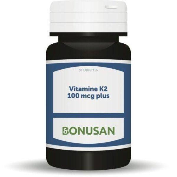 Vitamine K2 100 mcg plus (60tb)