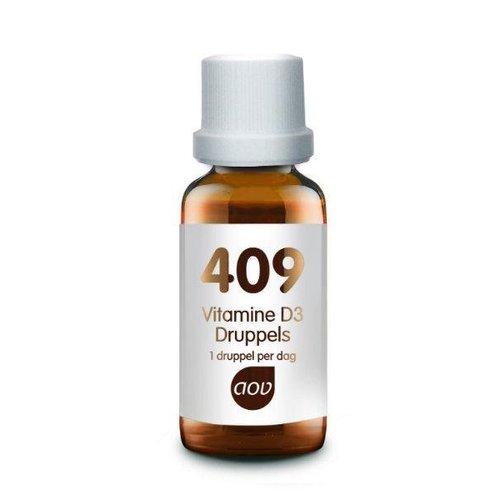 AOV 409 Vitamine D3 (Cholecalciferol) druppels 25 mcg (15ml)