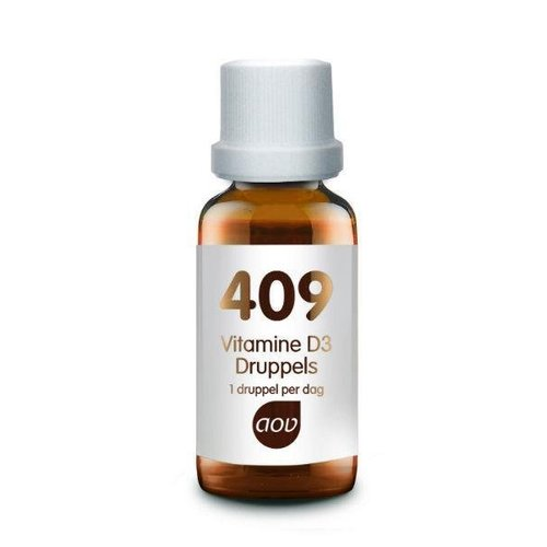 AOV AOV 409 Vitamine D3 druppels 25 mcg (15ml)