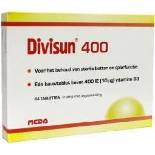 Divisun Vitamine D3 (Cholecalciferol) 400IE (84tb)