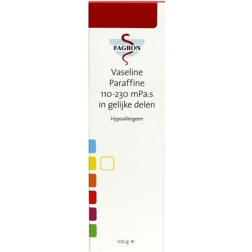 Fagron Fagron Vaseline paraffine 100/230 D + B (100g)