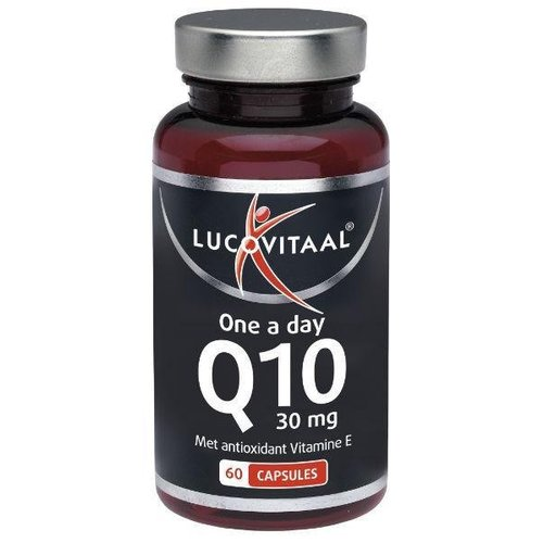 Lucovitaal Lucovitaal Q10 30 mg one a day (60ca)