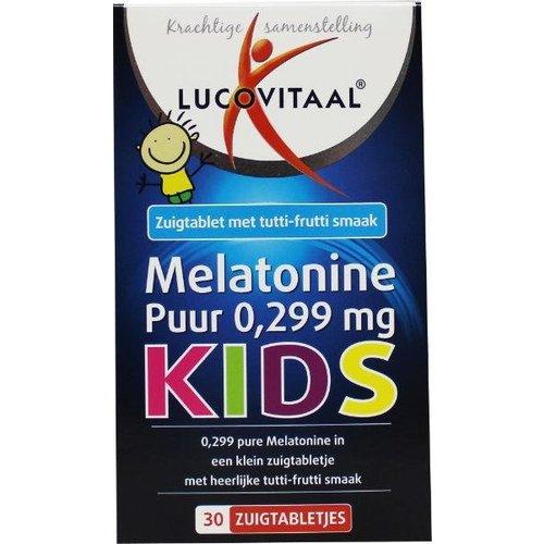 Lucovitaal Lucovitaal Melatonine kids puur 0.299 mg (30tb)