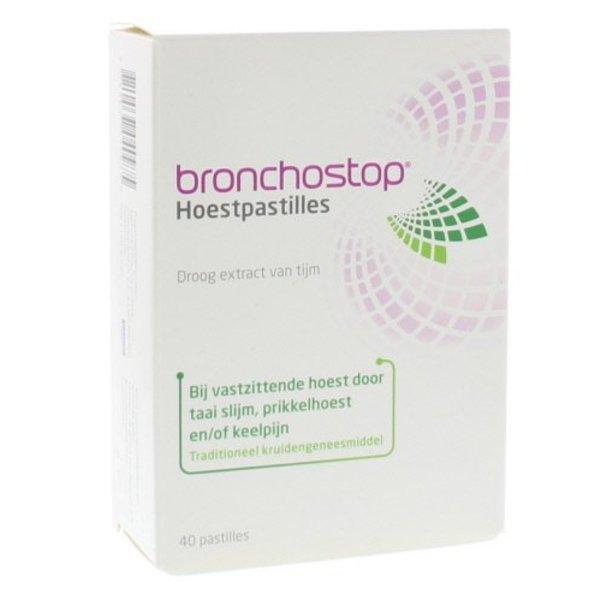 Bronchostop hoestpastilles (40st)