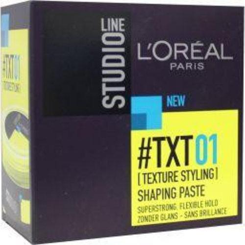 L'Oreal Loreal Studio line shaping paste pot (75ml)