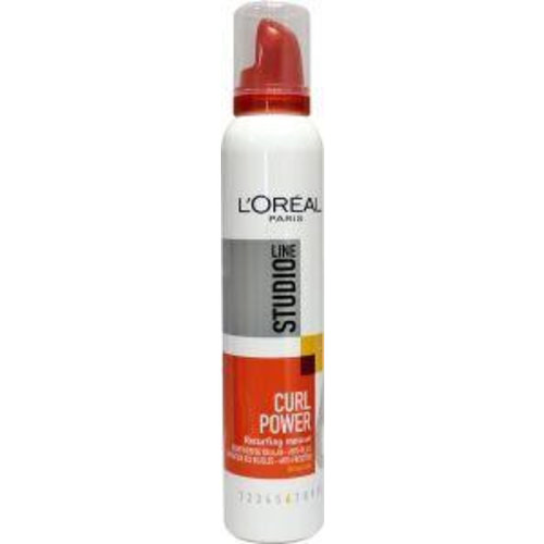 L'Oreal Loreal Studio line curls power mousse (200ml)