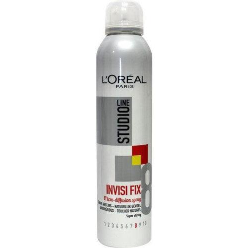 L'Oreal Loreal Studio line invisible fix spray (250ml)