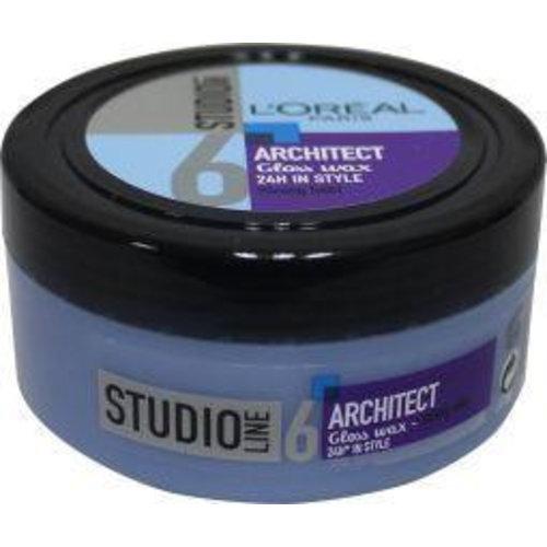 L'Oreal Loreal Studio line architect wax pot strong (75ml)