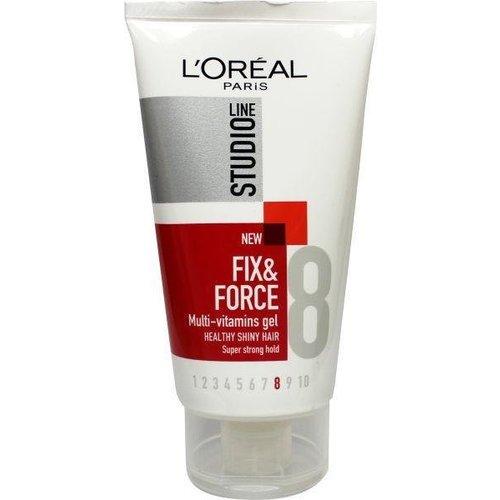 L'Oreal Loreal Fix & force multi vitamins gel (150ml)