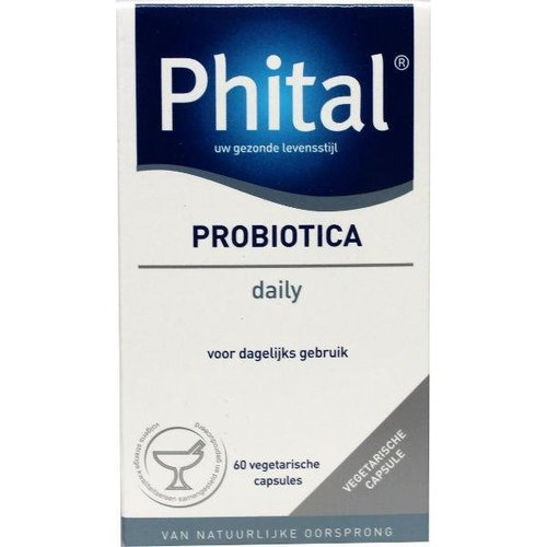 Phital Phital Probiotica daily (60ca)