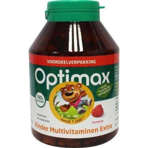 Optimax Optimax Kinder multivit extra (180kt)