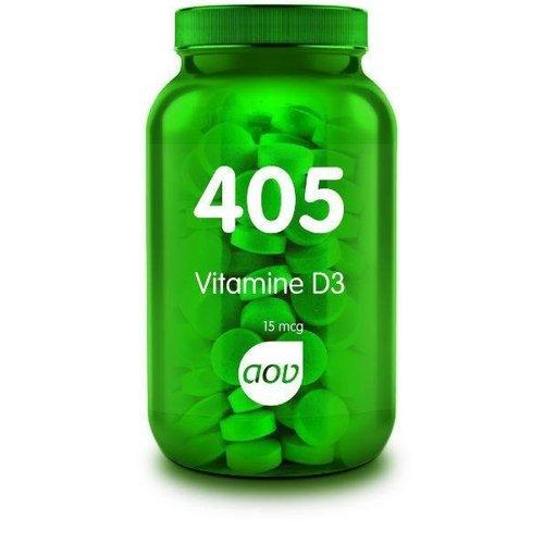 AOV 405 Vitamine D3  (Cholecalciferol) 15 mcg (180tb)