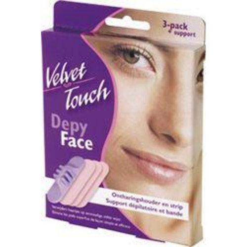 Velvet Touch Velvet Touch Depi-face gezicht (3st)