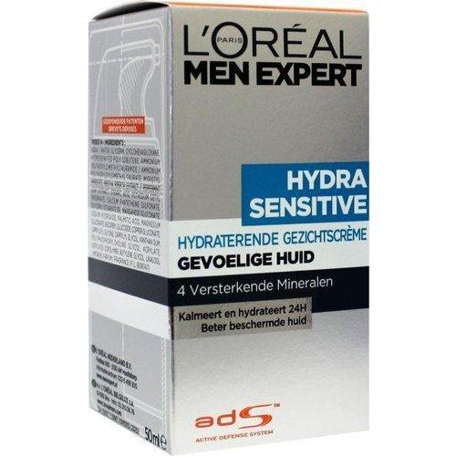 L'Oreal Loreal Men expert hydra sensitive moisturizing creme (50ml)