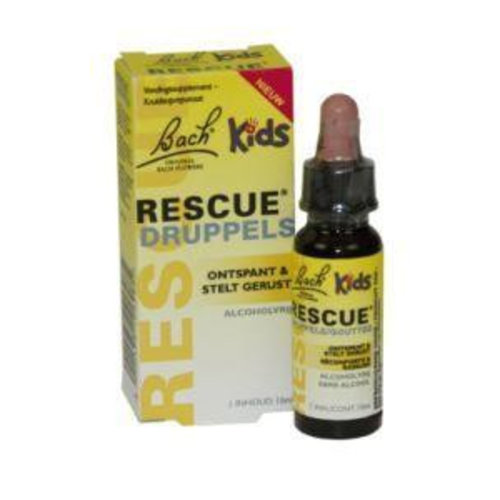 Bach Bach Rescue remedy kids druppels (10ml)