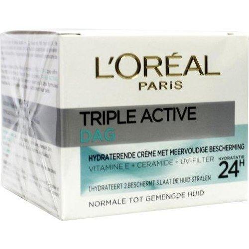 L'Oreal Loreal Dermo expertise triple active norm/gem hd dagcreme (50ml)