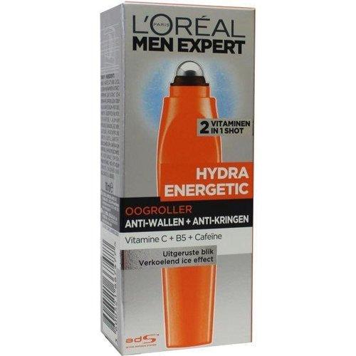 L'Oreal Loreal Men expert hydra energetic boost oog roller (10ml)
