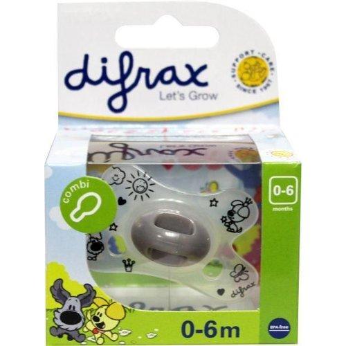 Difrax Difrax Fopspeen natural 0-6 Woezel en Pip (1st)