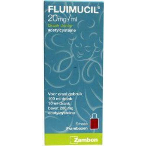 Fluimucil Fluimucil Fluimucil junior drank (100ml)