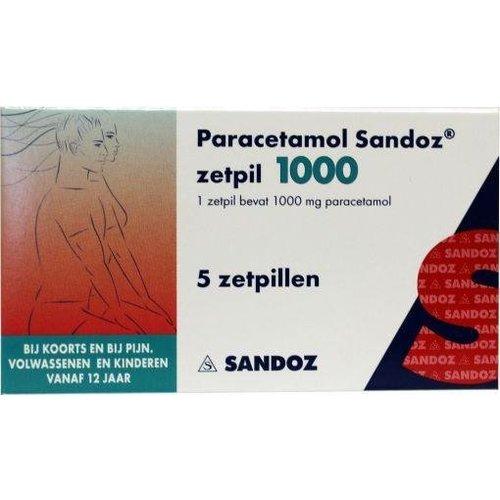 Sandoz Sandoz Paracetamol 1000 mg (5zp)