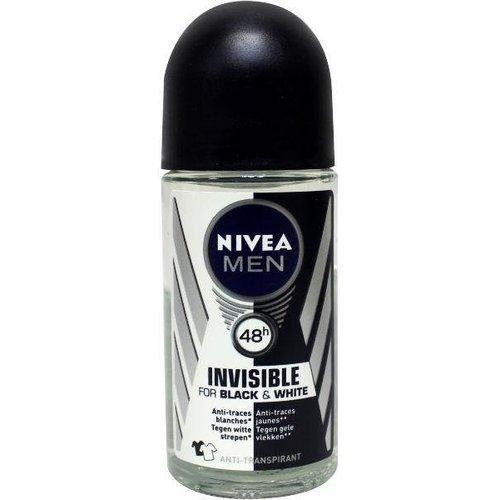 Nivea Nivea Men deodorant invisible black roller (50ml)
