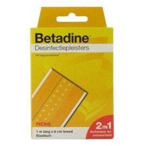 Betadine Desinfecterende pleister 1 m x 6 cm (1mx6cm)