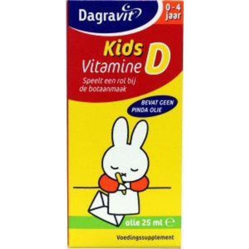 Dagravit Dagravit Kids vitamine D druppels oliebasis (25ml)