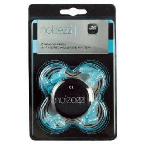 Noizezz Noizezz Gehoorbescherming zwemdoppen licht blauw (1set)