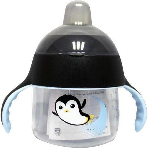 Avent Avent Tuitbeker pinguin 12 maand+ blauw (260ml)