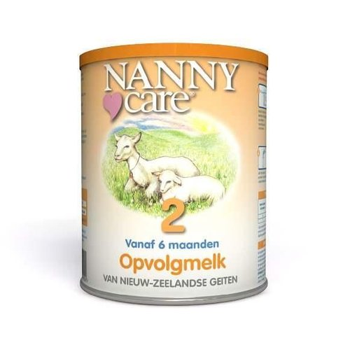 Nannycare Nannycare Nannycare opvolg geitenmelk (900g)