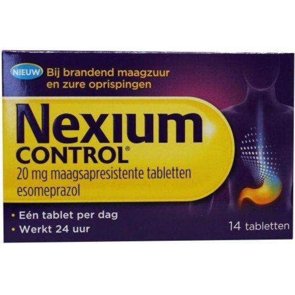 Esomeprazol Control Tegen Maagzuur (14tb)
