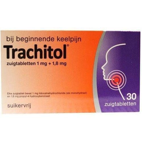 Trachitol Bij Beginnende Keelpijn (30zt)