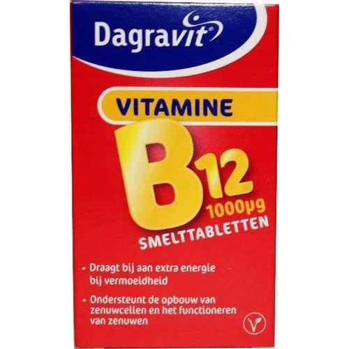 Dagravit Dagravit Vitamine B12 1000 mcg smelt (100tb)