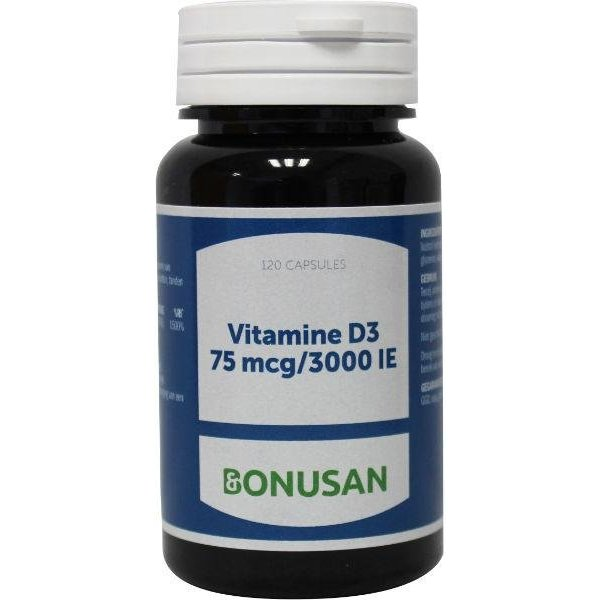 Vitamine D3 (Cholecalciferol) 75 mcg 3000IE (120sft)
