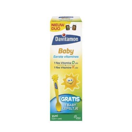 Davitamon Davitamon Baby vitamine D & K 25 mcg (35ml)