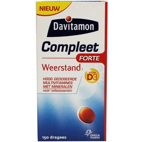 Davitamon Davitamon Compleet weerstand forte (150drg)