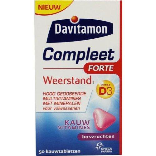 Davitamon Davitamon Compleet weerstand forte (50tb)