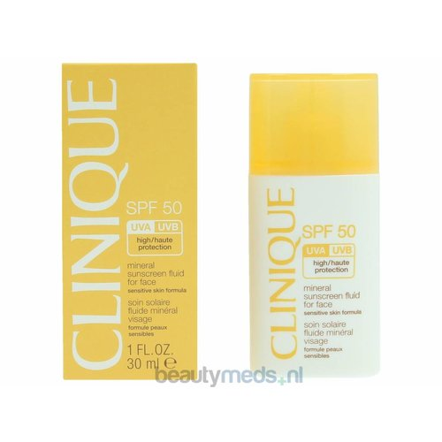 Clinique Clinique Mineral Sunscreen Fluid For Face SPF 50 (30ml)