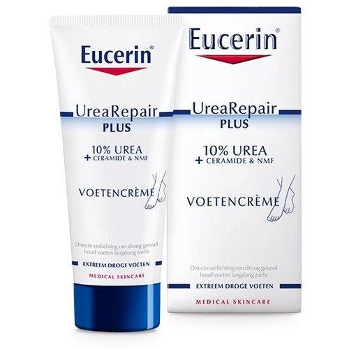 Eucerin 10% Urea repair plus voet (100ml)