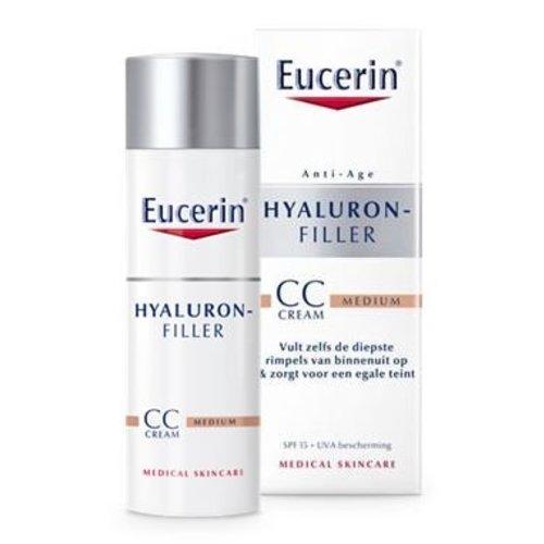 Eucerin Hyaluron filler dagcreme CC cream medium (50ml)